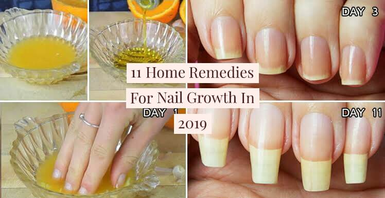 Natural Home Remedies For Nail Growth and hardening, Natural Home Remedies For Nail Growth