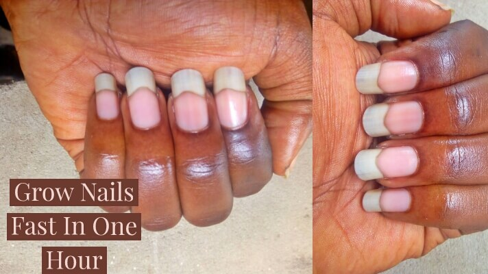How To Grow Nails Faster In 1 Hour (Easy Guides 2020)
