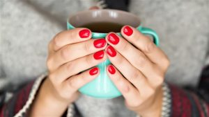 Grow Long Nails In One Week, Get Long Nails In One Week, Grow Natural Nails In 5 Days, wear nail paint to stop nail biting