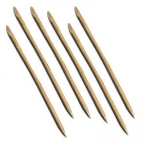Nail Care Materials, Nail Tools, Nail Implements, Other Nail Care Materials, wood stick cuticle pusher