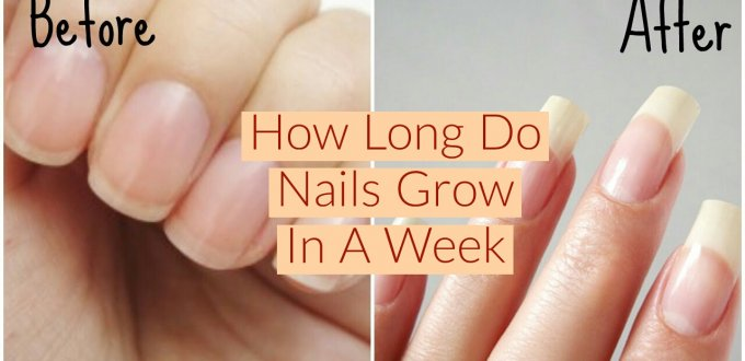 How Long Do Nails Grow In A Week, how long nails grow in a week