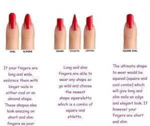 Best Nail Shape For Long Fingers In 2019