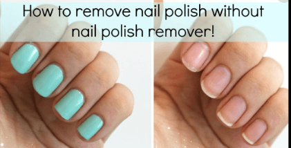 11 Ways To Remove Nail Polish Without Nail Polish Remover