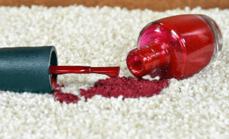 How To Get Nail Polish Out Of Carpet (Using Household Items)